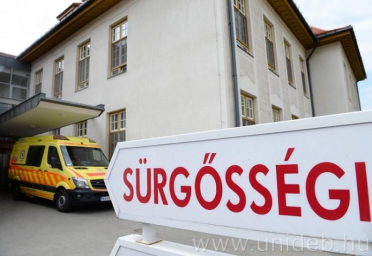 Debrecenben van az egyik legjobb sürgősségi az országban