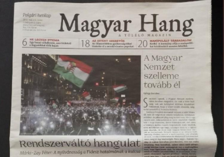 Itt a Magyar Nemzet-utód!