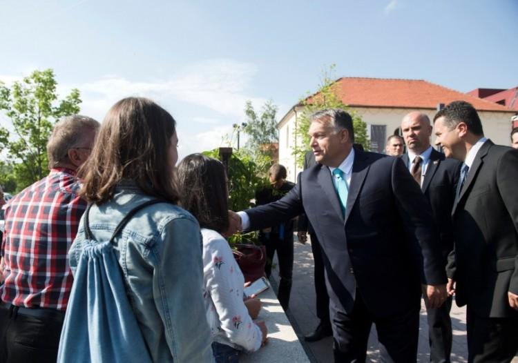 Orbán Viktor a falusiakhoz szólt