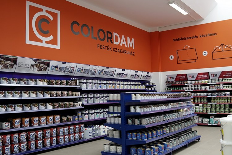 Íme, Debrecen legújabb festékáruháza!