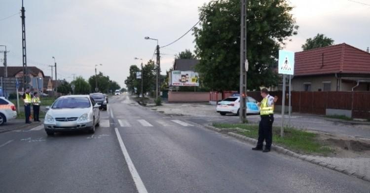 Megint gyalogost gázoltak el a zebrán Debrecenben