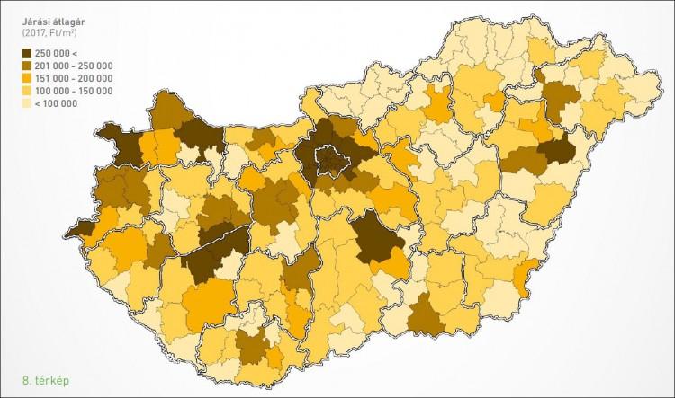 Debrecen elszakadt árakban a vidéktől