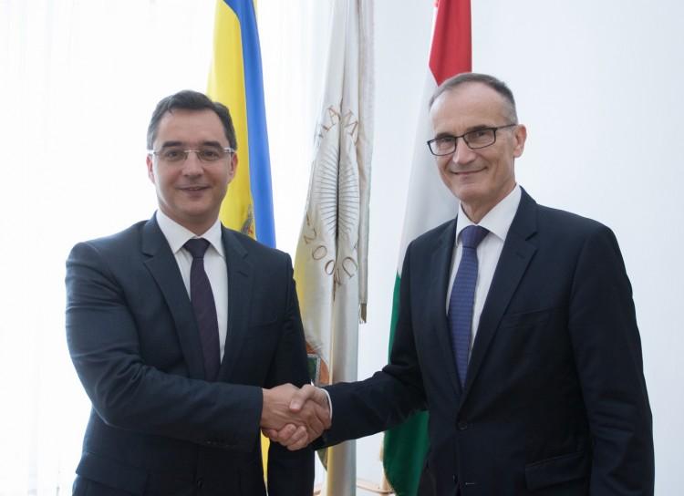 Debrecennel ismerkedett a német nagykövet