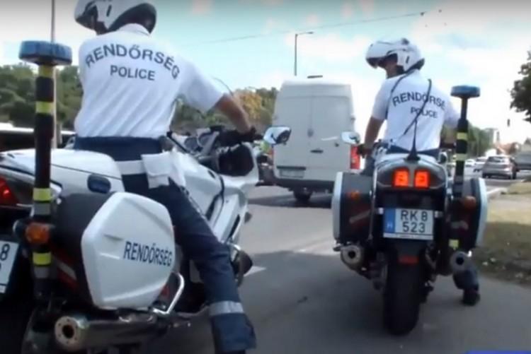 Folyamatos rendőri ellenőrzés Debrecenben