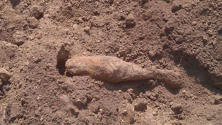 Gránátot találtak Nyíregyházán