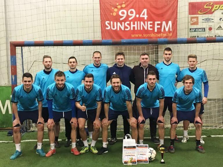 Debreceniek is voltak a  Fuxtec-Sunshine focitornán