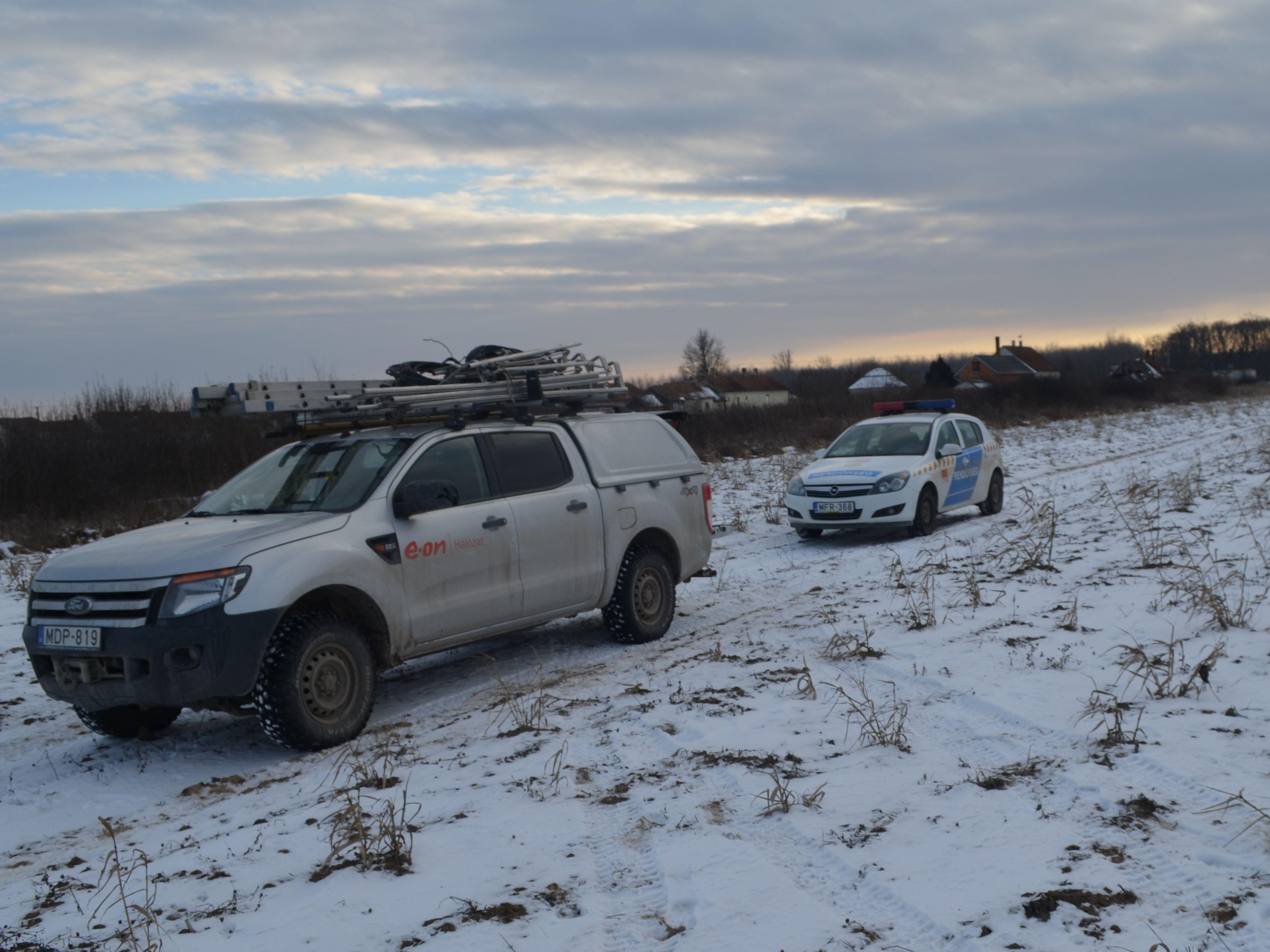 Durva: három szabolcsi településen még mindig nincs áram