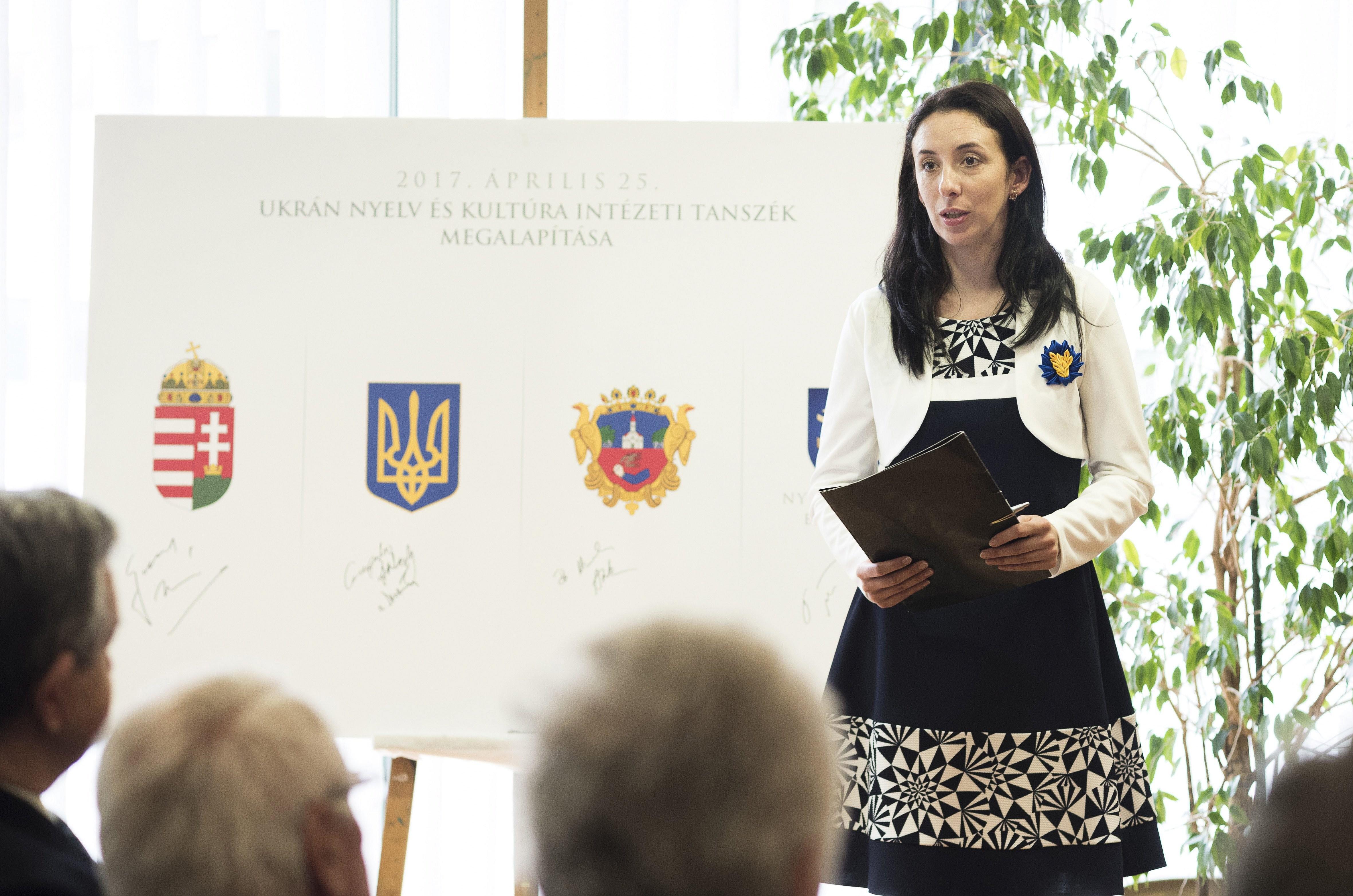Négy év után ismét lesz ukrán tanszék Nyíregyházán
