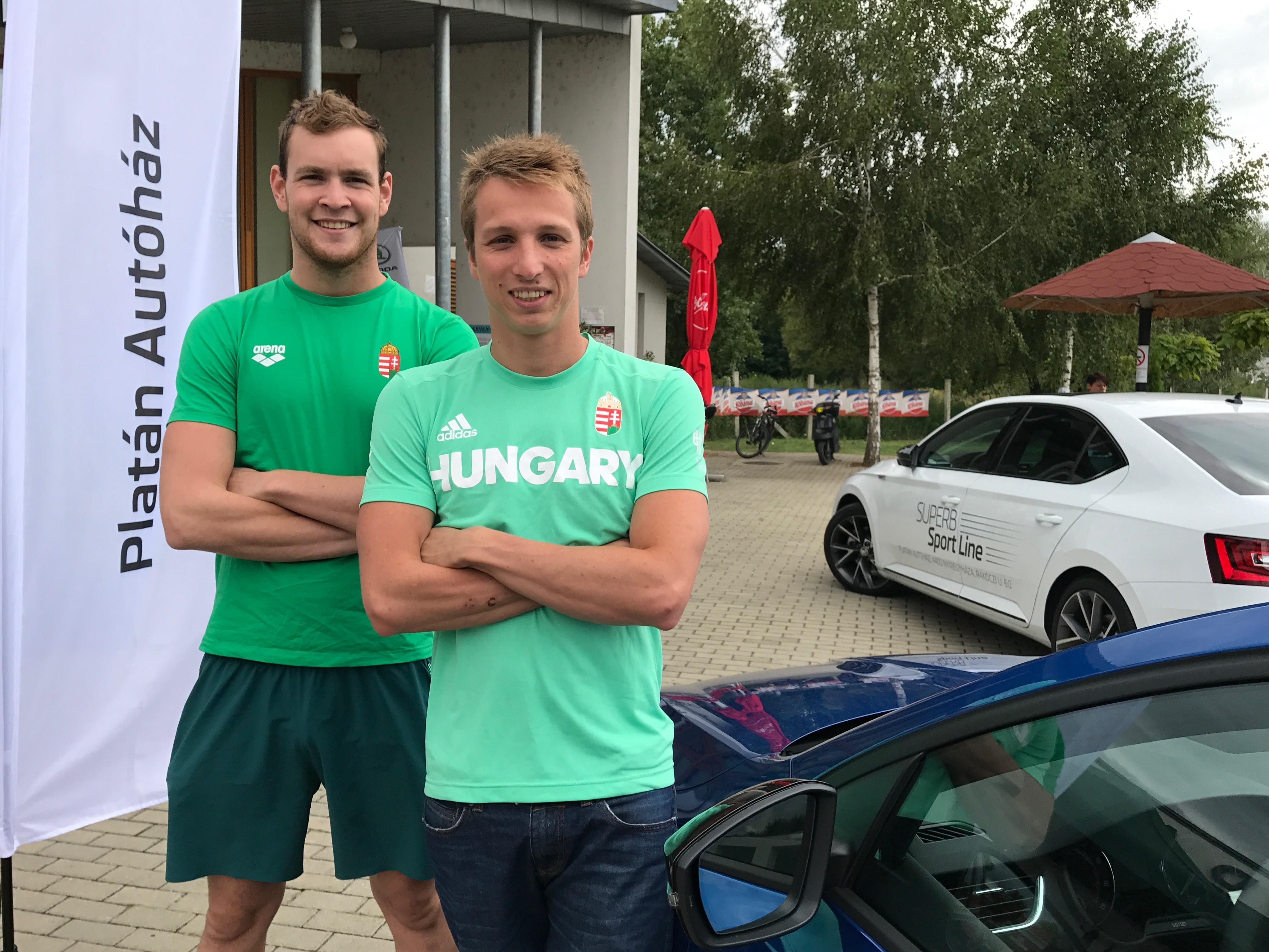 Rekordkísérlet olimpikonokkal és Skodákkal