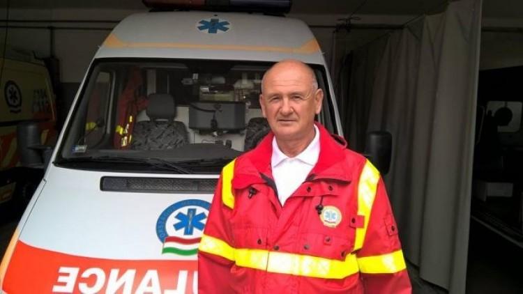 Mátészalkai mentős a hét mentőápolója