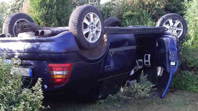 Szaltózott a kocsi Kislétán