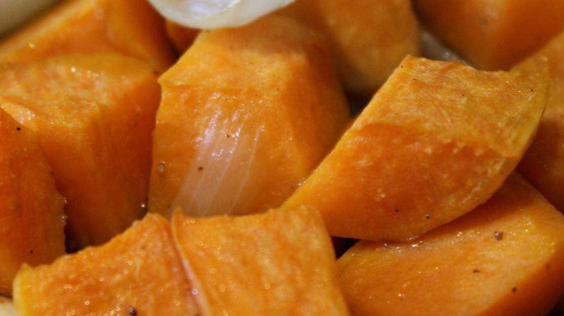 Recept: édesburgonya sütve, finom fűszerekkel