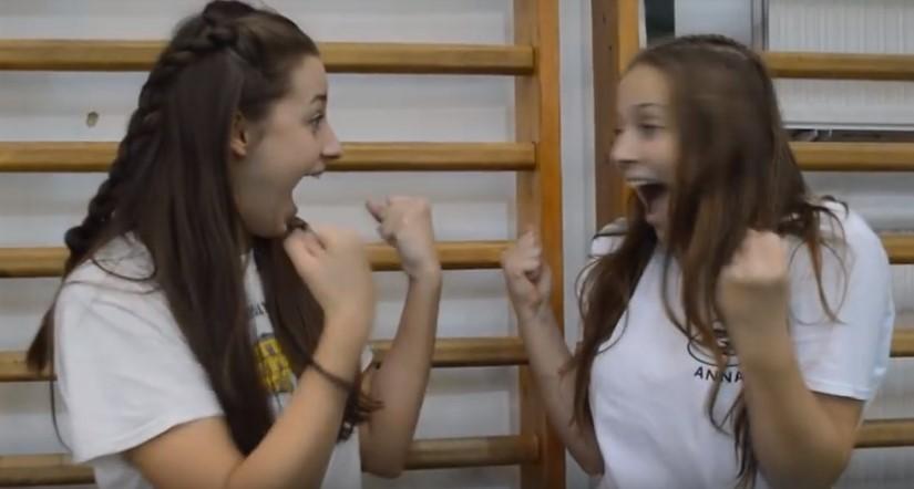 Aranyos, kedves amatőr videó a debreceni gimnáziumról