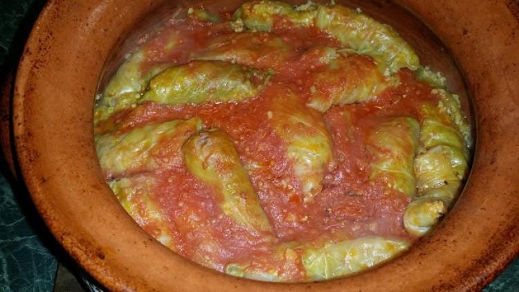 Recept: málékásás káposzta cserépedényben