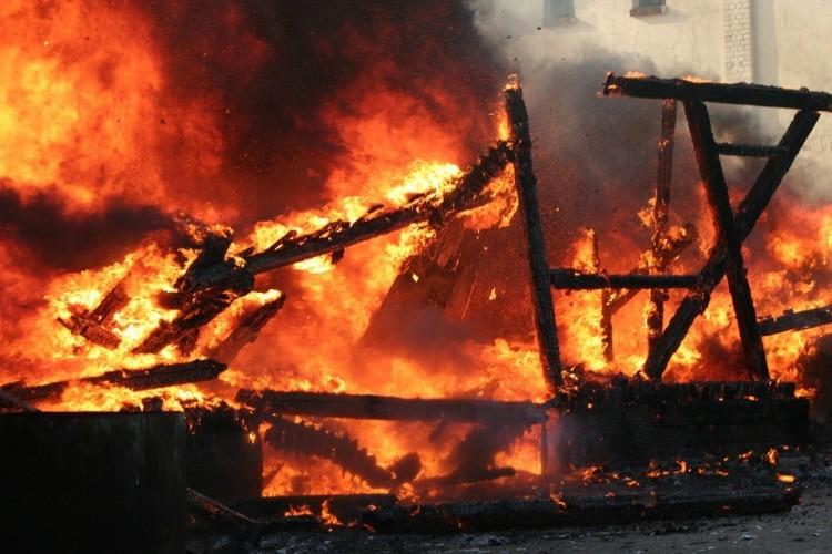 Hatalmas tűz volt Kisvárdán