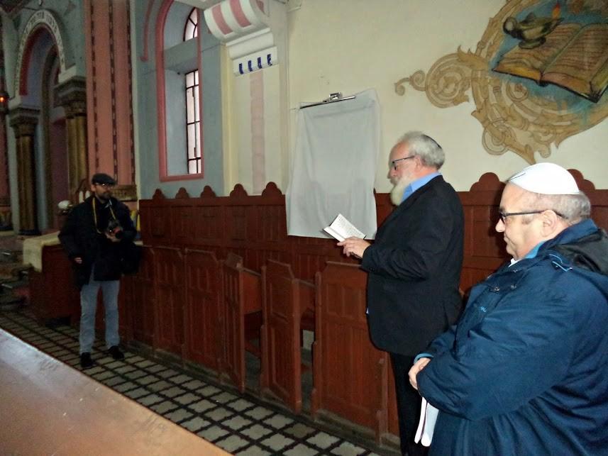 Emléktáblát avattak vasárnap Nyíregyháza főrabbija tiszteletére