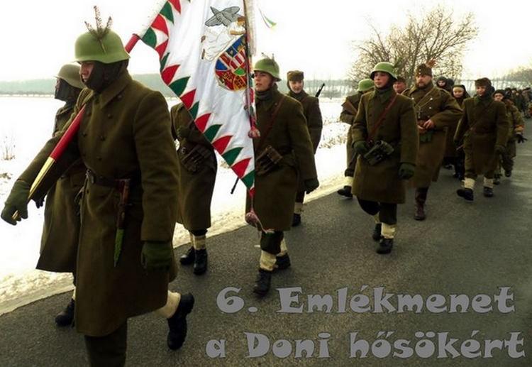 Szabolcsi emlékmenet a doni hősök tiszteletére
