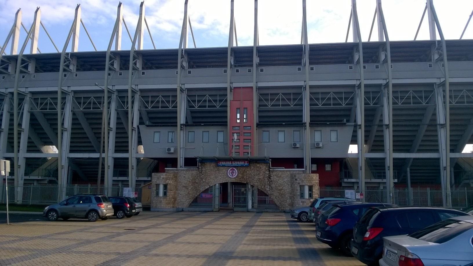 Az új nyíregyházi stadion kiverte a biztosítékot