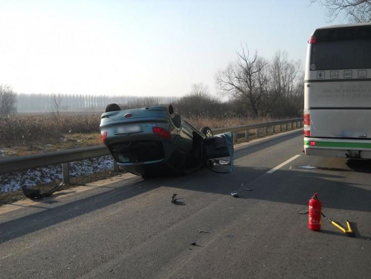 Nagy baleset történt Kisvárdánál
