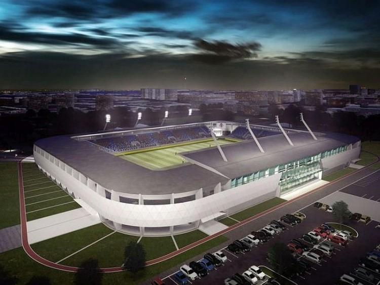Így fog kinézni a nyíregyházi stadion