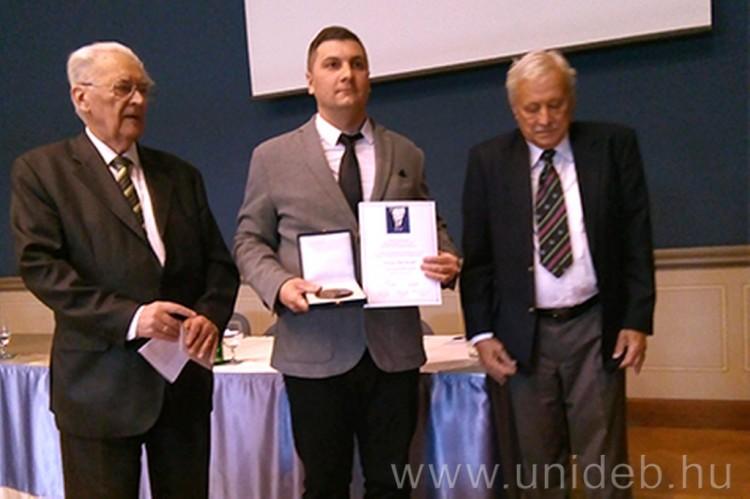 Nyíregyházi kutató nyert rangos díjat a szomszédvárban