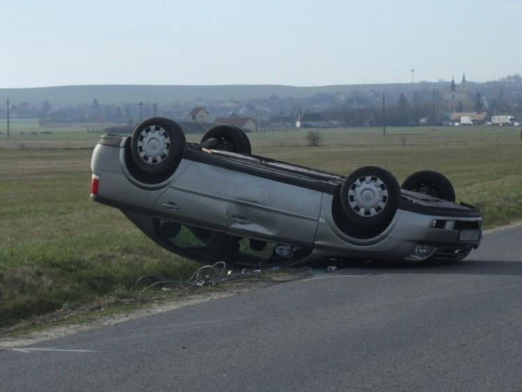 Nagy baleset Nyírbogdánynál
