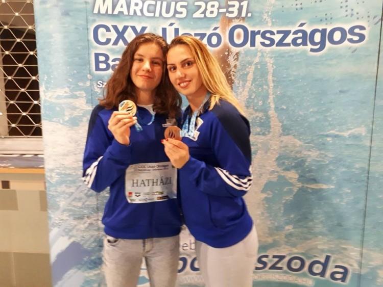 Ügyesen szerepeltek a nyíregyházi úszólányok Debrecenben