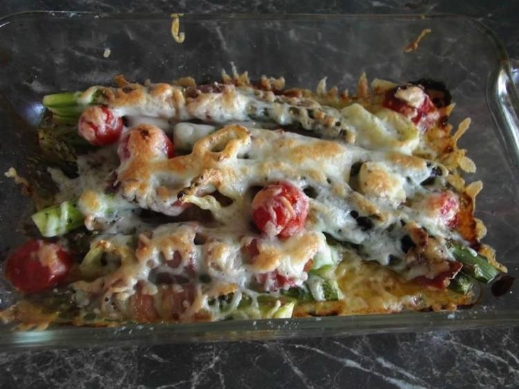 Recept: spárga - baconbe bugyolálva