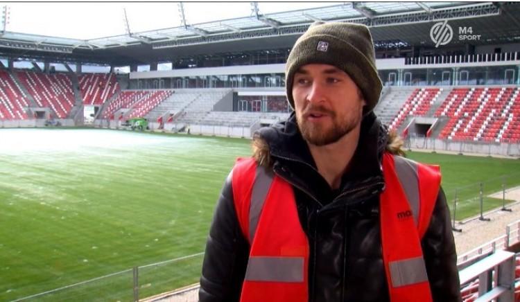 A Diósgyőr focistája könnyeivel küszködött az épülő miskolci arénában