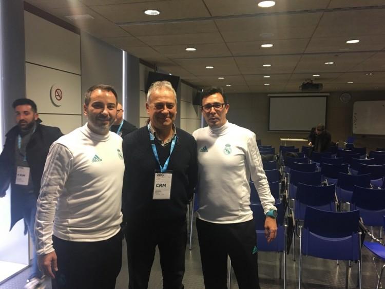 A Real Madridnál tanulja a szakmát a debreceni edző