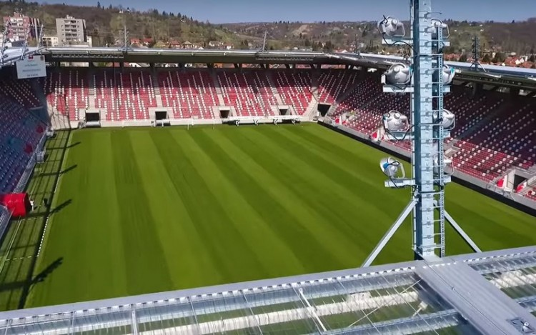 Tesztmeccs: nyílik a miskolci stadion