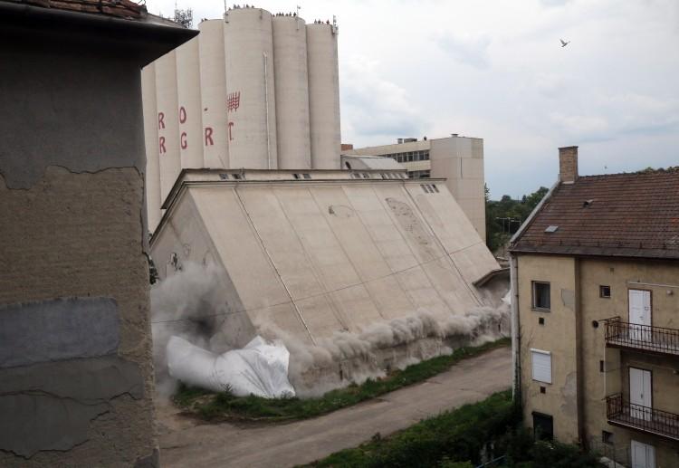 Felrobbantották sokak egykori miskolci munkahelyét
