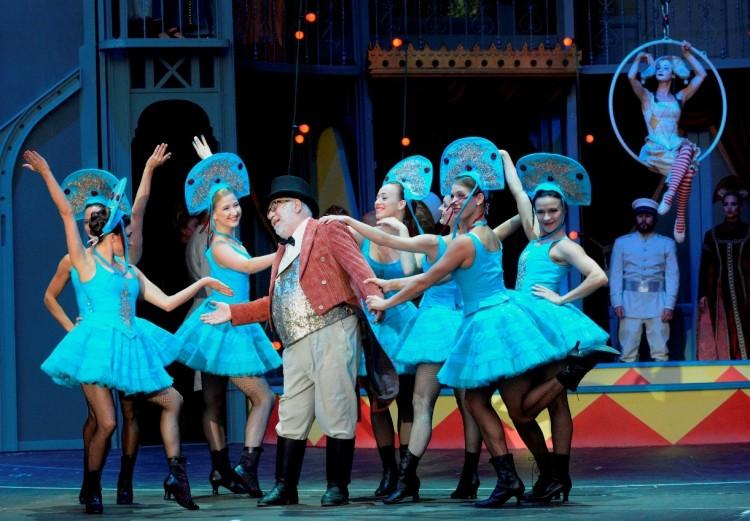 A cirkuszhercegnő Miskolcon hódít