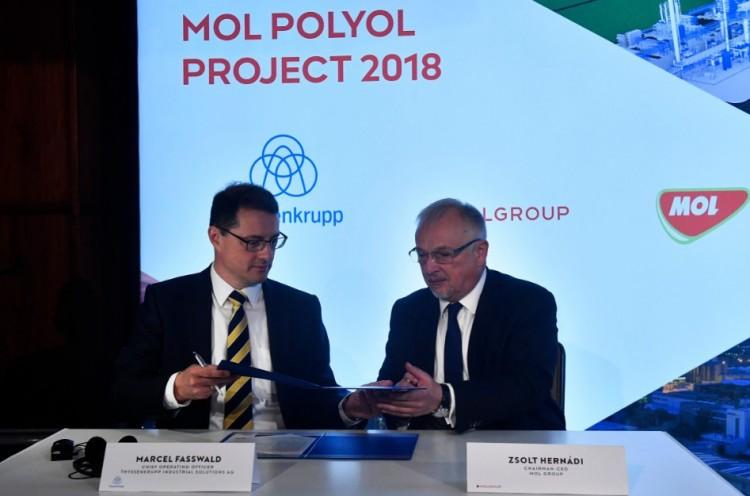 Ilyen lesz a MOL 390 milliárdos üzeme Tiszaújvárosban + Látványterv!