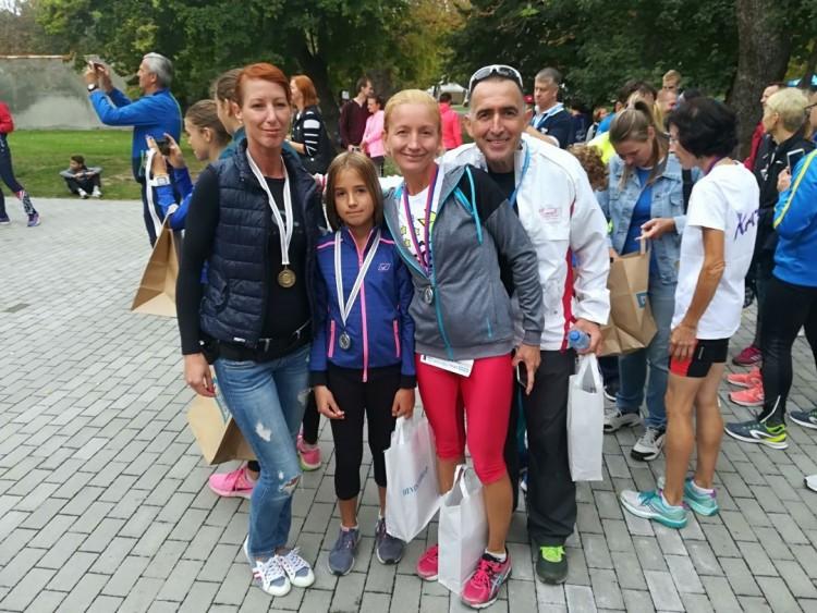 Az ózdi futók remekeltek Egerben