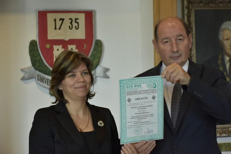 Dicsőség: nemzeti díjat nyert a Miskolci Egyetem