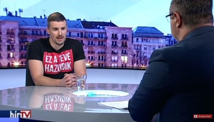 A jobbikos a Hír TV-t alázta a Hírt TV-ben!