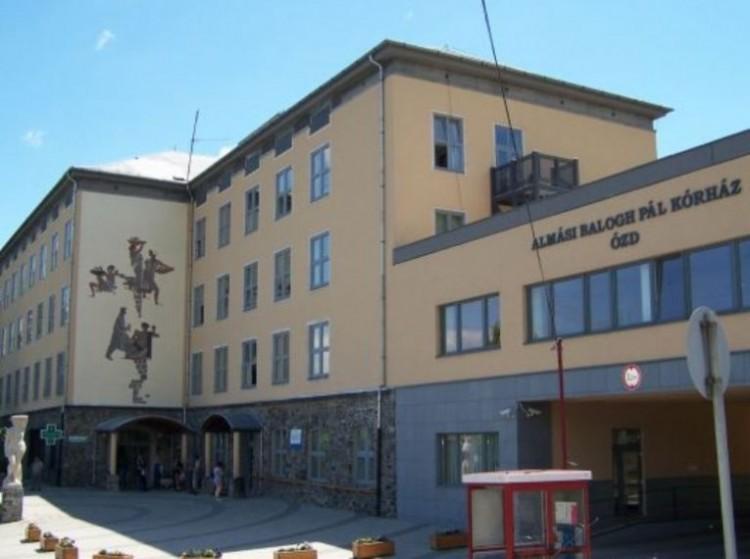 Jelentős higiénés fejlesztések az ózdi kórházban