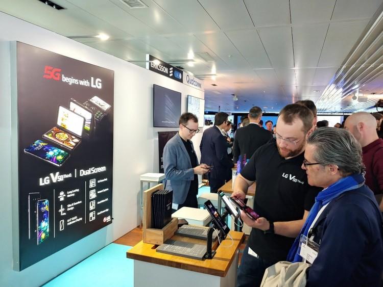 Európában az LG 5G-képes csúcstelefonja