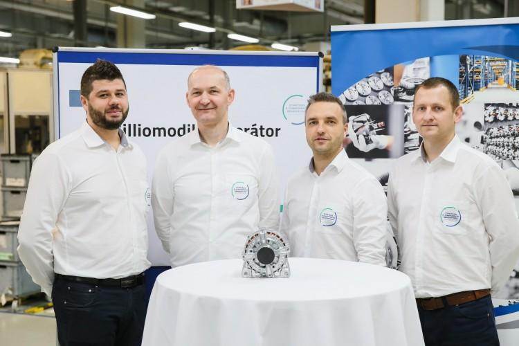 Elkészült Miskolcon a 15 milliomodik generátor