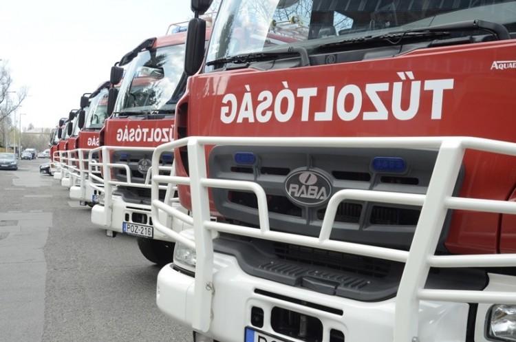 Teljesen kiégett egy autó Izsófalván