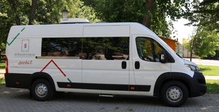 Borsodba érkezik a kormányablak busz