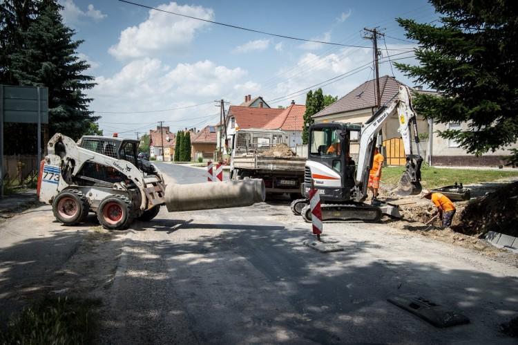 Ezek a Borsod megyei falvak kapnak új utat