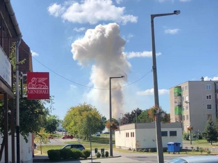 Ijesztő robbanások Kazincbarcikán