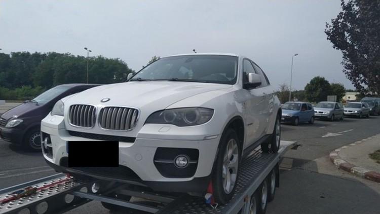 Csengersimáig jutott egy körözött BMW