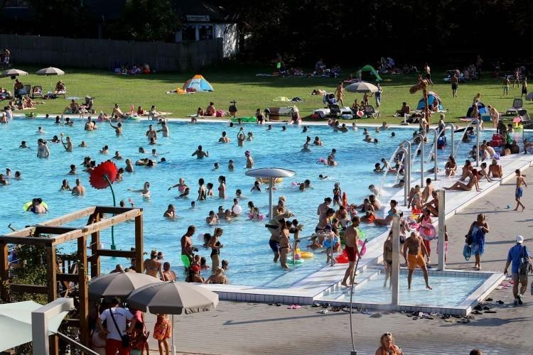 A helyiek kedvenc fürdője lett a Miskolctapolcai Strand