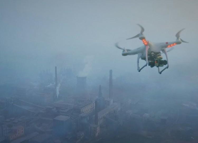 Drónnal figyelnék az illegális égetést a Sajó völgyében