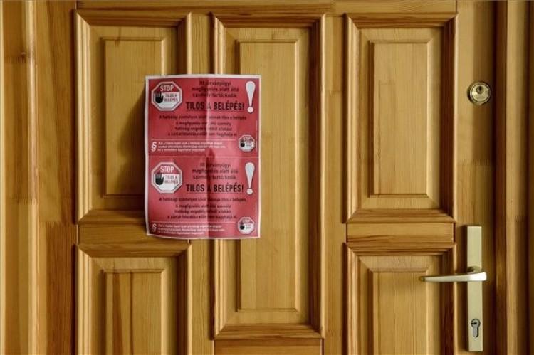 Negyvenkilencen vannak hatósági házi karanténban Miskolcon