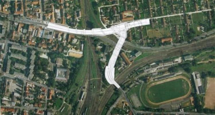 Épül az Y-híd Miskolcon