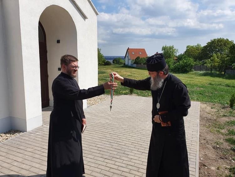 Átadták az új mezőkövesdi templom kulcsait